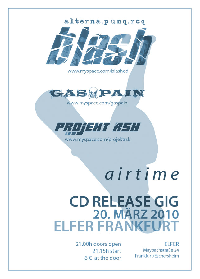 CD Release Gig at Elfer, Frankfurt